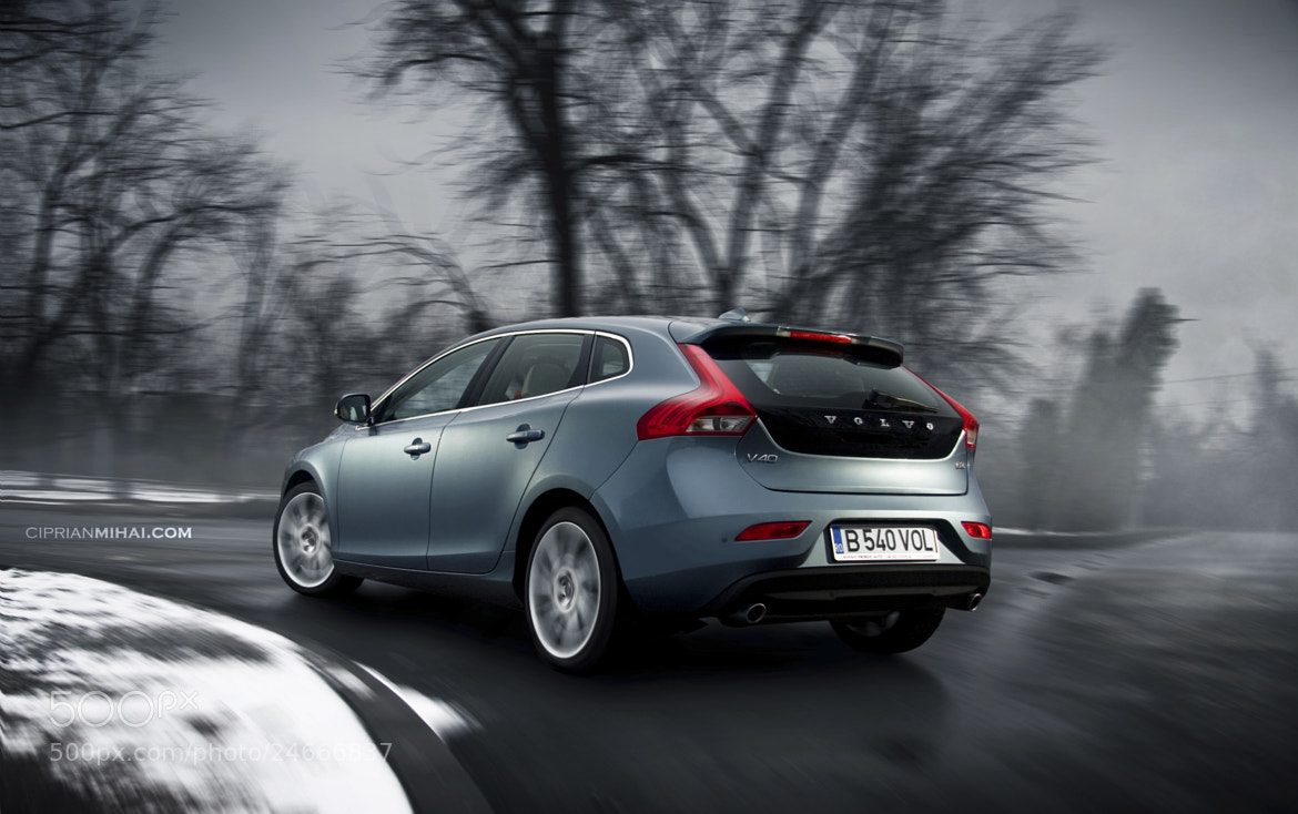 Photograph Volvo V40 by Ciprian Mihai on 500px
