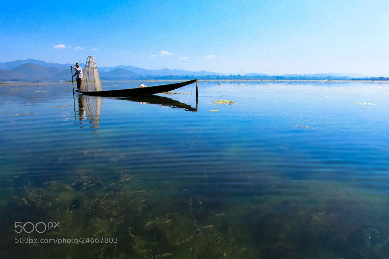 Photograph Alone Fishing by Mahesh Krishnamurthy on 500px