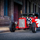 Постер, плакат: Chevrolet Hot Rod 1928