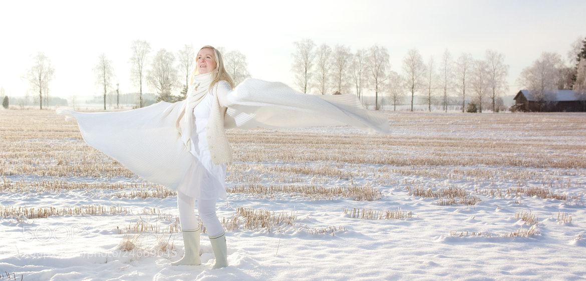 Photograph The Snow Queen by Pette Rissanen on 500px