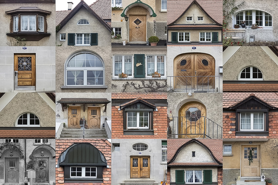 Gesichter einer Siedlung