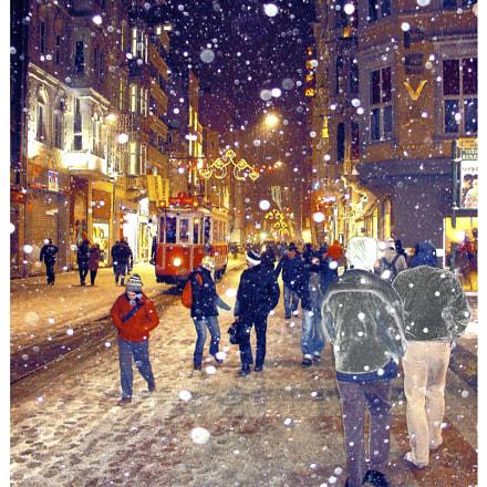 Istanbul with Snow, Sony DSC-V1