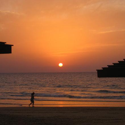 Beach Haifa, Canon POWERSHOT SD1100 IS