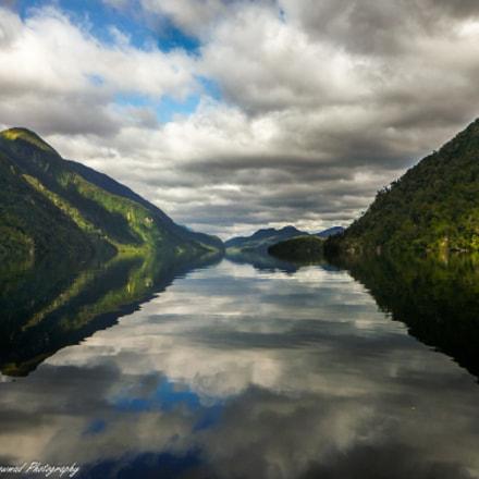 Reflections, Fjordland, New Zealand, Panasonic DMC-FT4