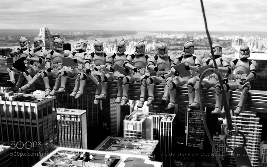 Photograph 272/365 | Troopers atop a Skyscraper by David Eger on 500px