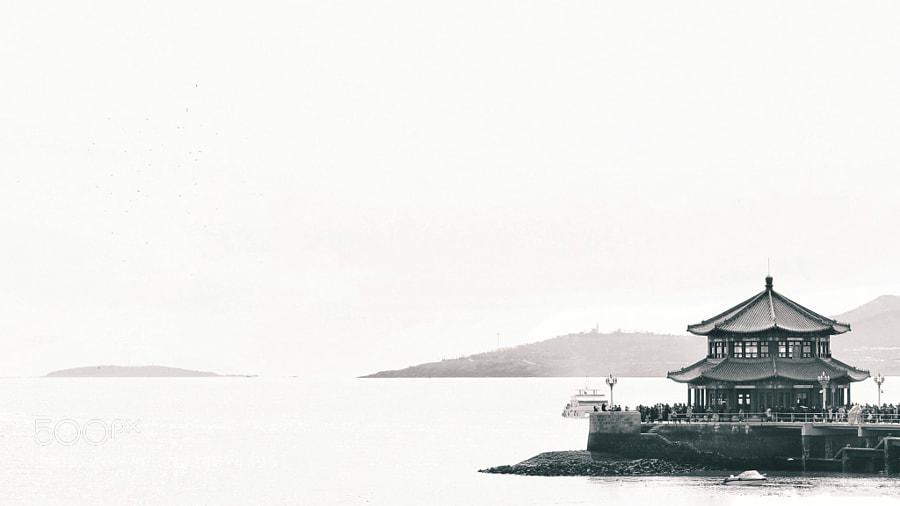 山东省青岛市海上栈桥公园
