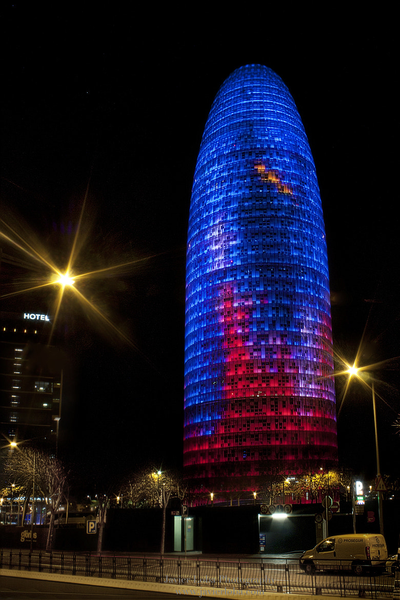 Photograph Torre Agbar. Barcelona by Javier Loba on 500px