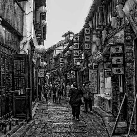 Sketch me a street, Nikon COOLPIX L11