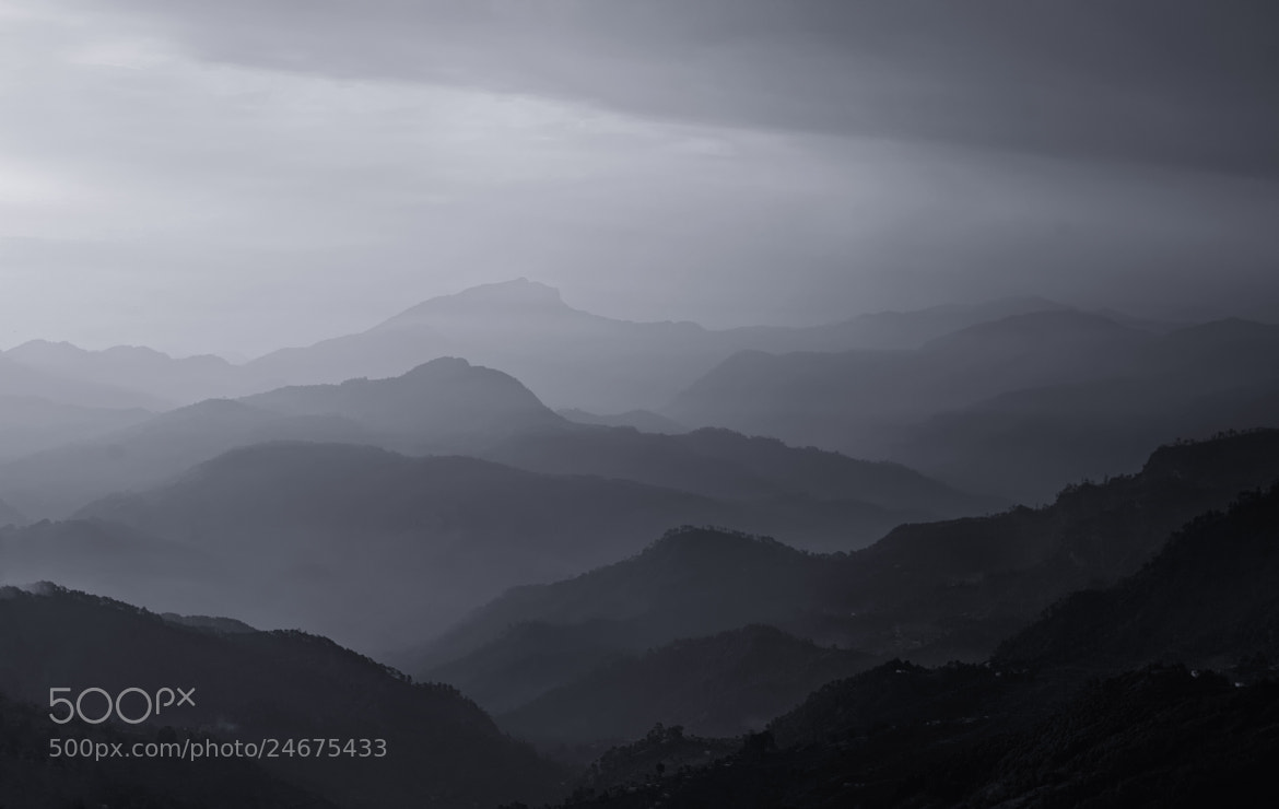 Photograph Misty Mountains by Jassi Oberai on 500px