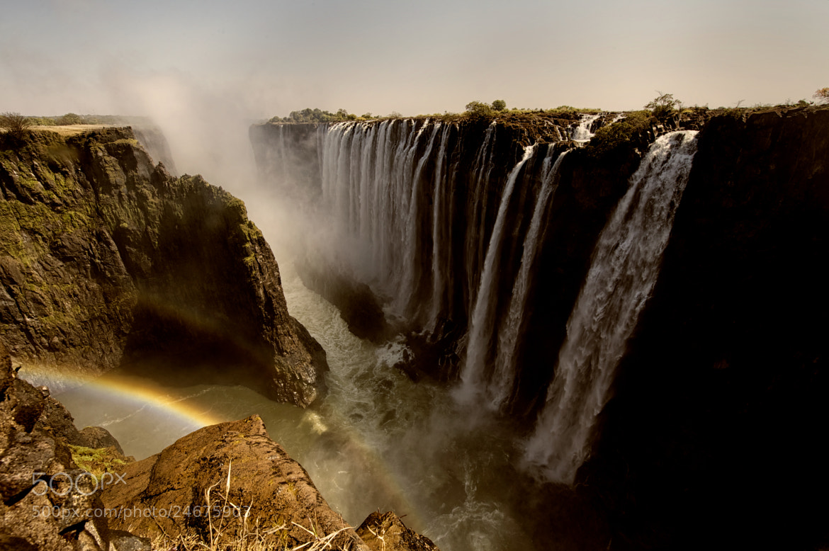 Photograph Victoria falls by Nicole Cambré on 500px