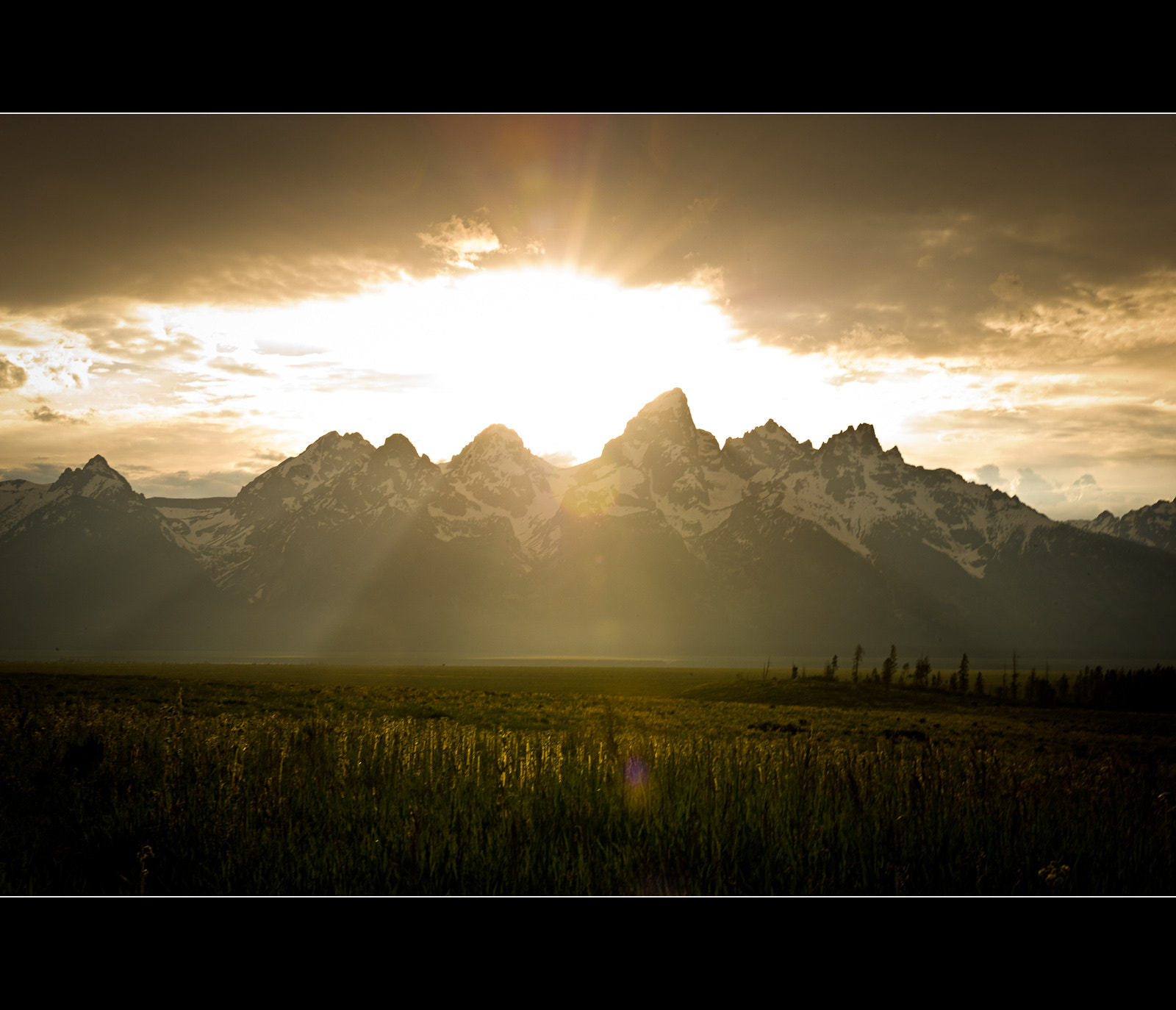 Photograph Teton Sunset by Wil Bloodworth on 500px