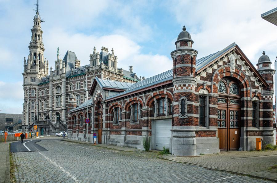 Marguerie Schuilhaven and Pilotage Building Loodswezen in Antwerp, Belgium by Ilya Kurlin on 500px.com