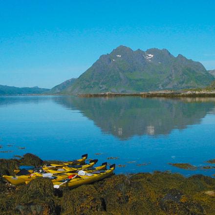 Lofted Islands, Norway, Canon POWERSHOT G2
