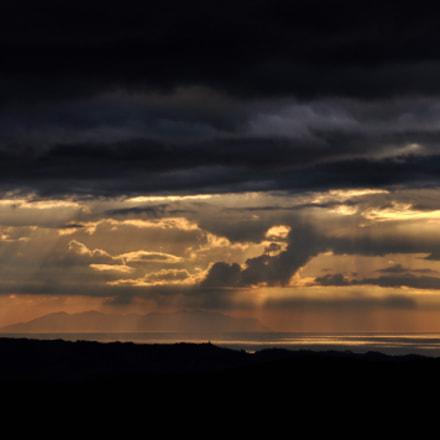 tramonto, Nikon D90, AF Zoom-Nikkor 70-300mm f/4-5.6D ED