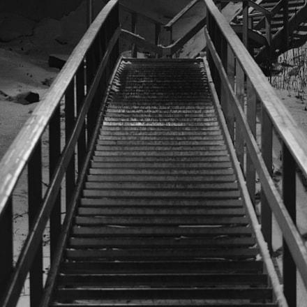 Stairway to Hagalund, Nikon D5300, Sigma 70-300mm F4-5.6 APO DG Macro HSM