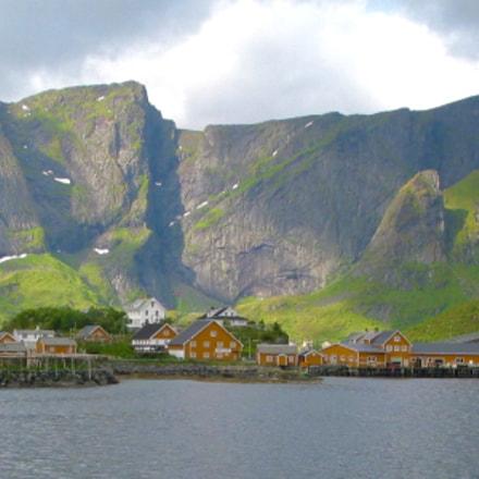 Fishing Village, Norway, Canon POWERSHOT G2