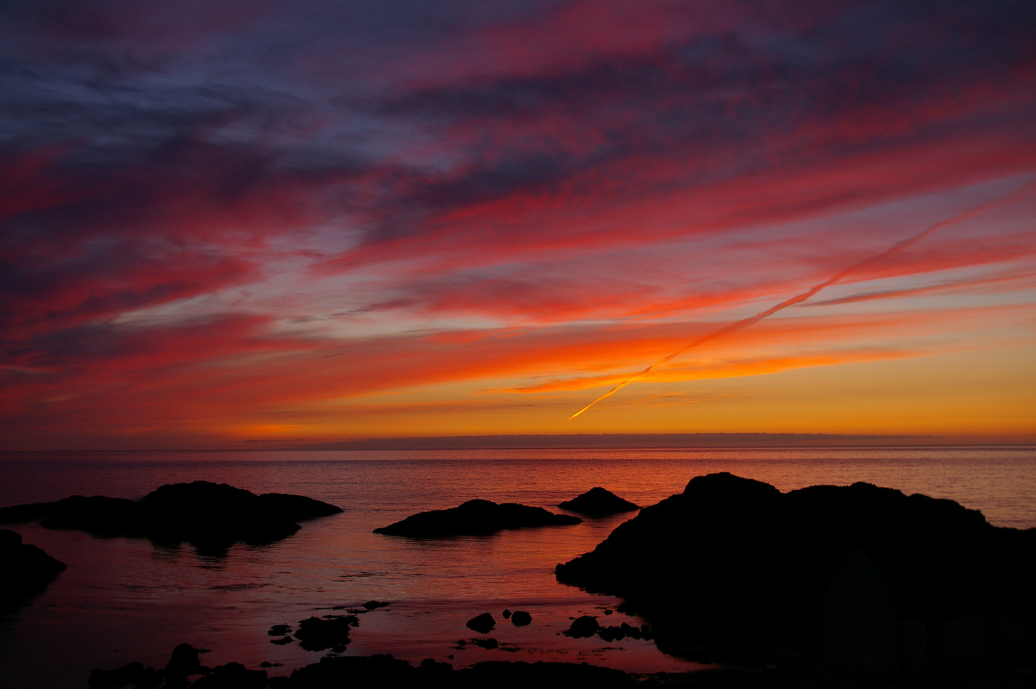 Photograph Ballintoy sunset by Brian  Fullerton on 500px