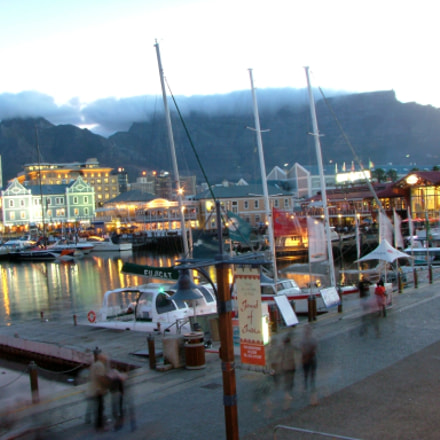 Table Mountain, Cape Town, Fujifilm FinePix S5000