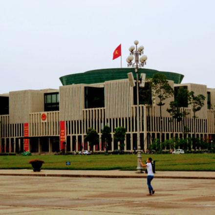 Ho Chi Minh Museum, Nikon COOLPIX S5300