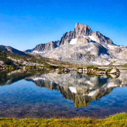 Banner Peak Reflected, Nikon E8700