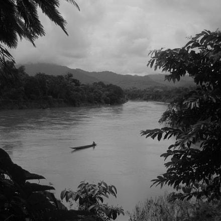 Mekong river @LuangPrabang , Lao., Canon DIGITAL IXUS I ZOOM