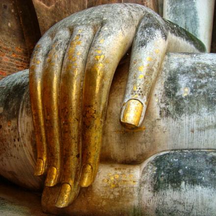 Wat Mahathat Thailand. World, Sony DSC-W120