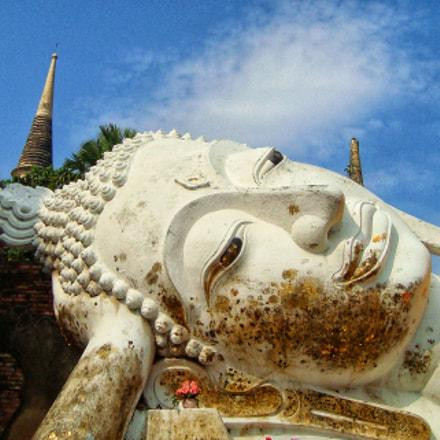 Ayutthaya, Thailand   world heritage, Sony DSC-W120