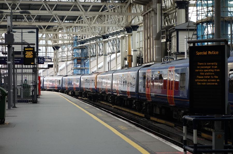 London Waterloo by Sandra  on 500px.com