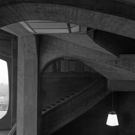 Le Goetheanum Inside window