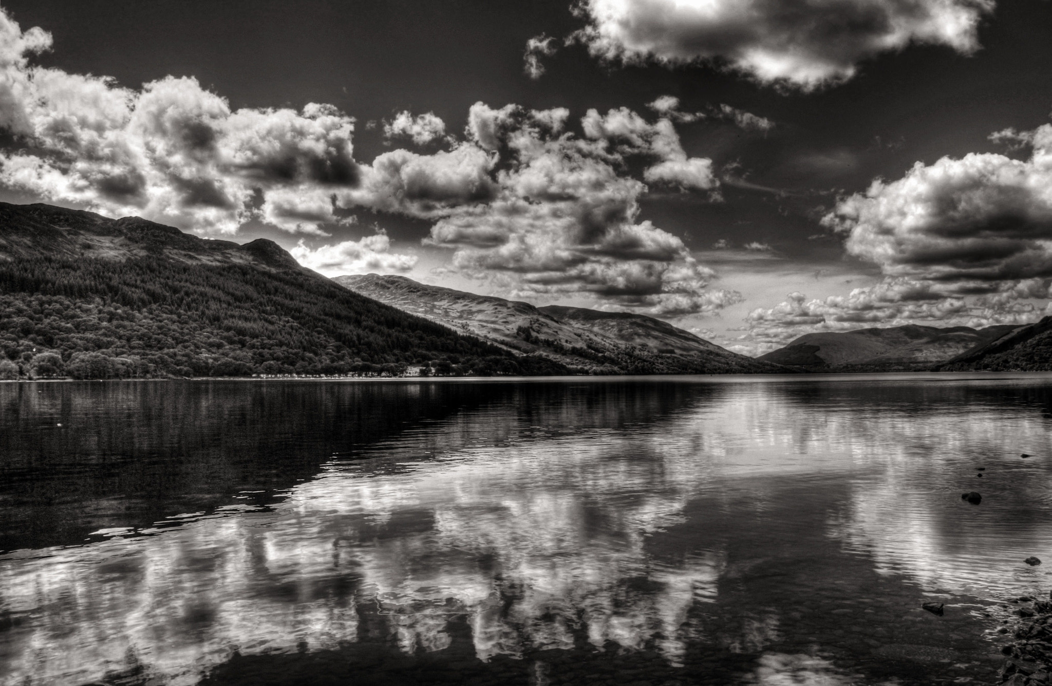 Photograph Looking Over Loch Earn by Hilda Murray on 500px