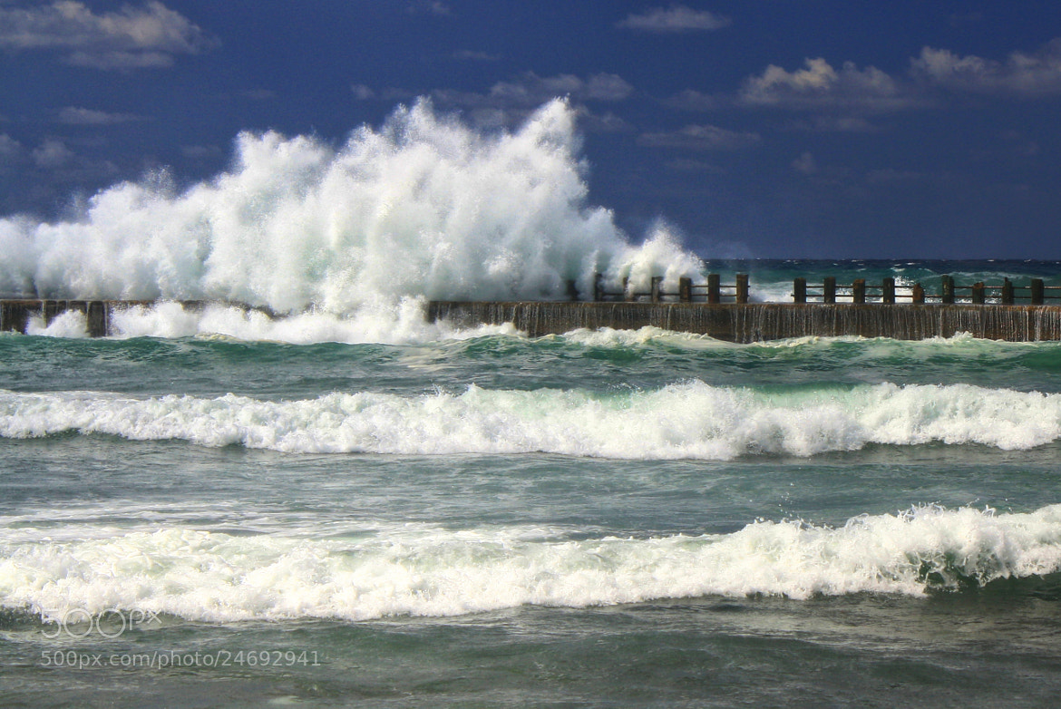 Photograph Wave Breaker by Jorge Coromina on 500px