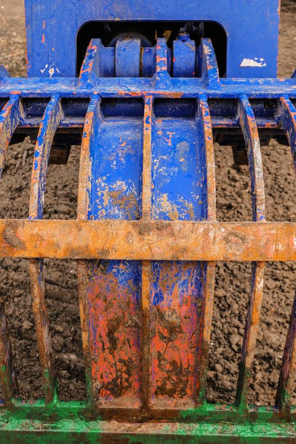 La pelleteuse (excavator) de Christine Druesne sur 500px.com