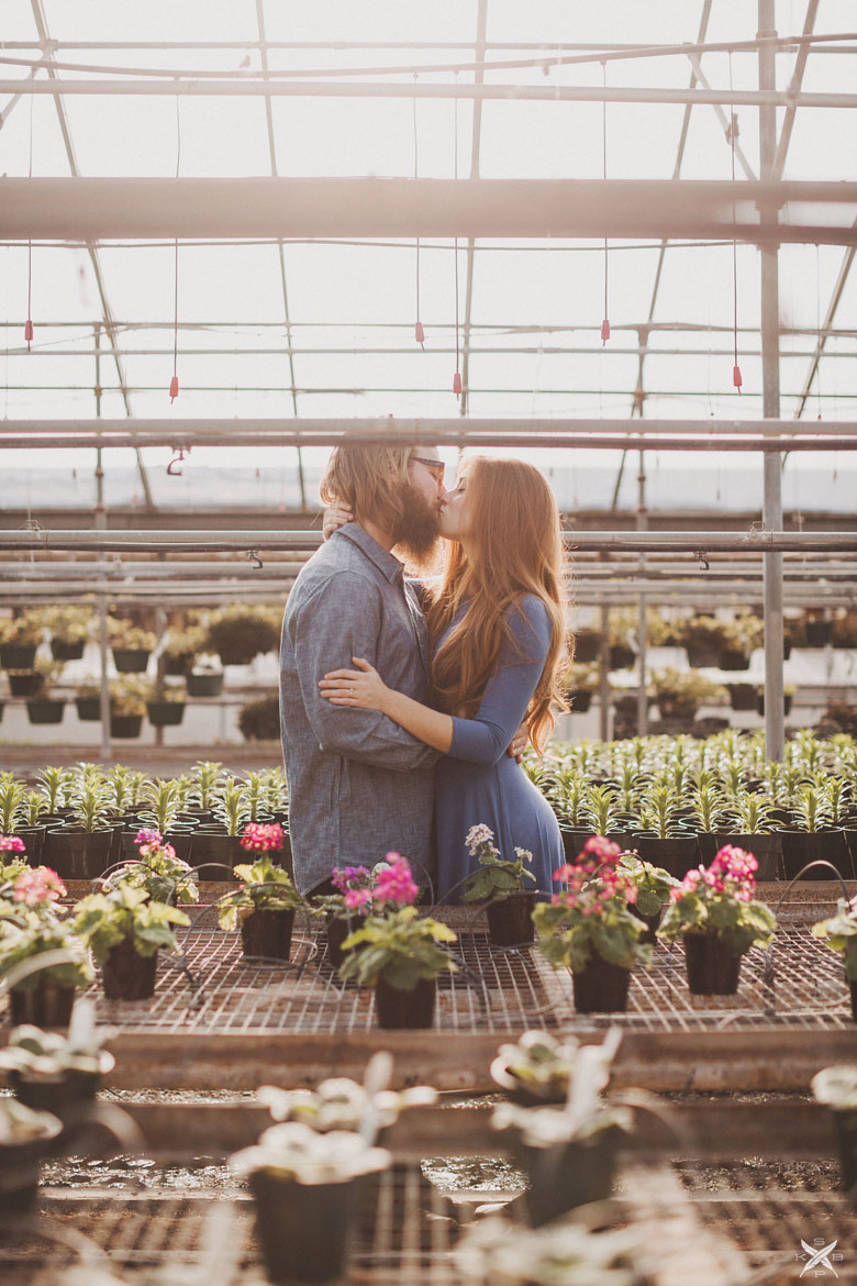 Photograph Greenhouse Engagement by Sara K Byrne on 500px