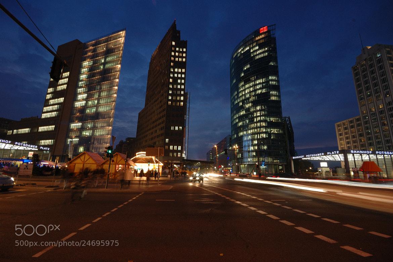 Photograph Potsdamer Platz - Berlin by Kosmas  on 500px
