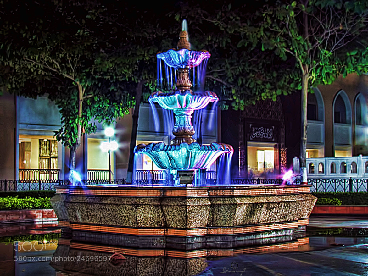 Photograph Fountain of Color n Light by Yusuf Ratlamwala on 500px