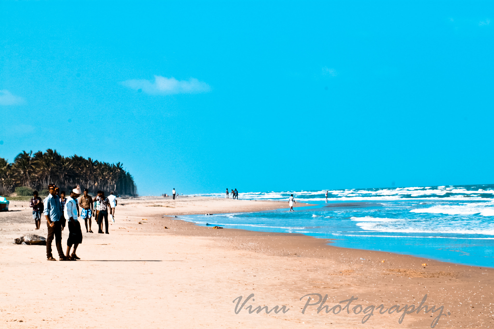 Photograph The Beautiful Beach of Velankanni by Vinu Padmanabhan on 500px