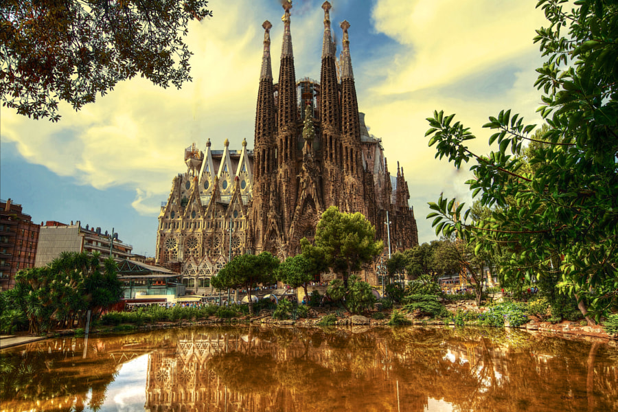 Photograph Sagrada Familia- 2 by JUAN  ROMERO on 500px