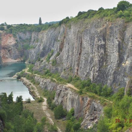 Lom amerika The quarry, Fujifilm FinePix S8300