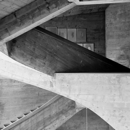 Le Goetheanum Staircase architecture