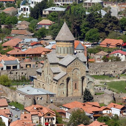 Georgia. Mtskheta. Svetitskhoveli Cathedral, Canon EOS 550D, Sigma 50-200mm f/4-5.6 DC OS HSM