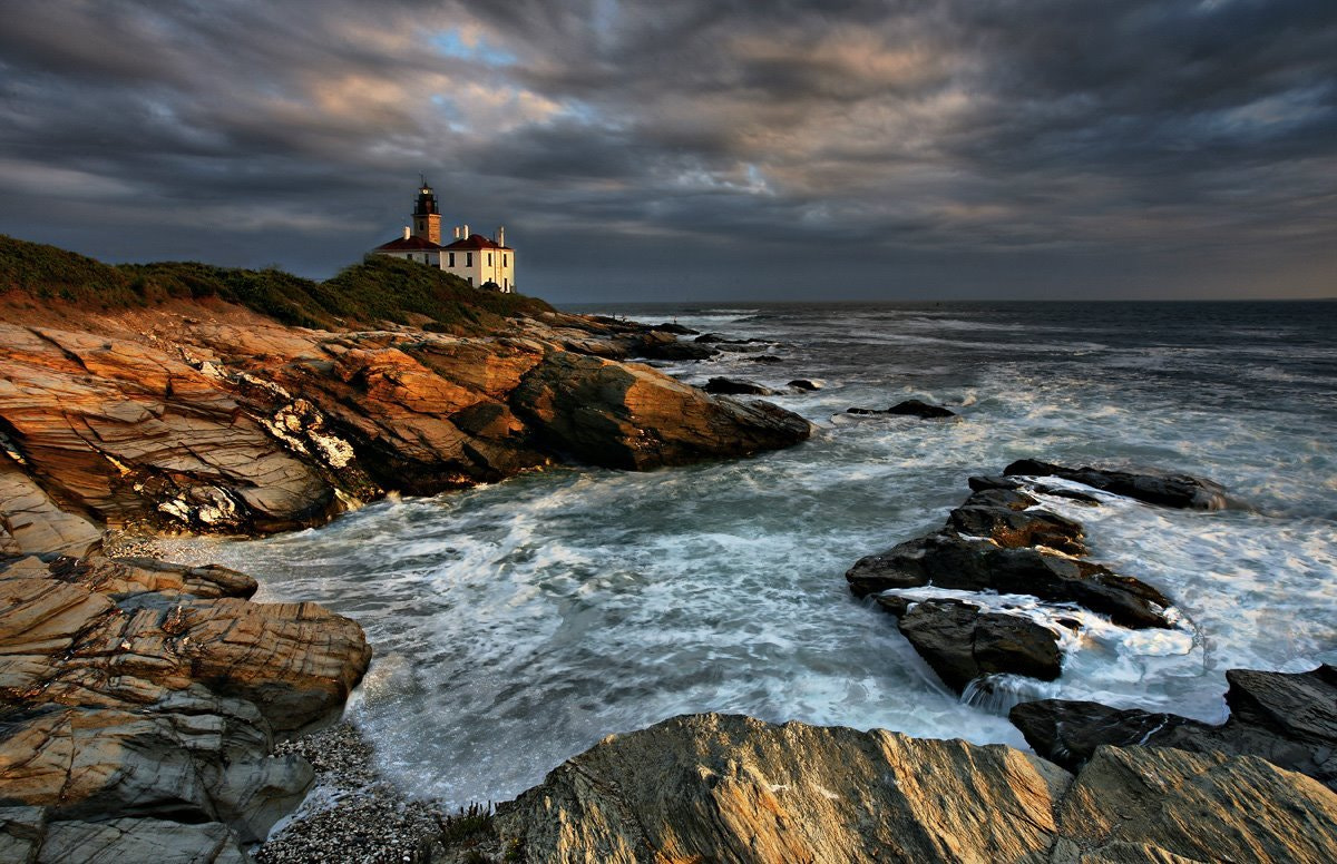 Photograph Beavertail light by marion faria on 500px