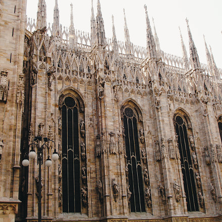 Milan Cathedral, Sony DSC-P200