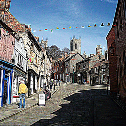 Steep Hill ( Lincoln ), Fujifilm FinePix AV120