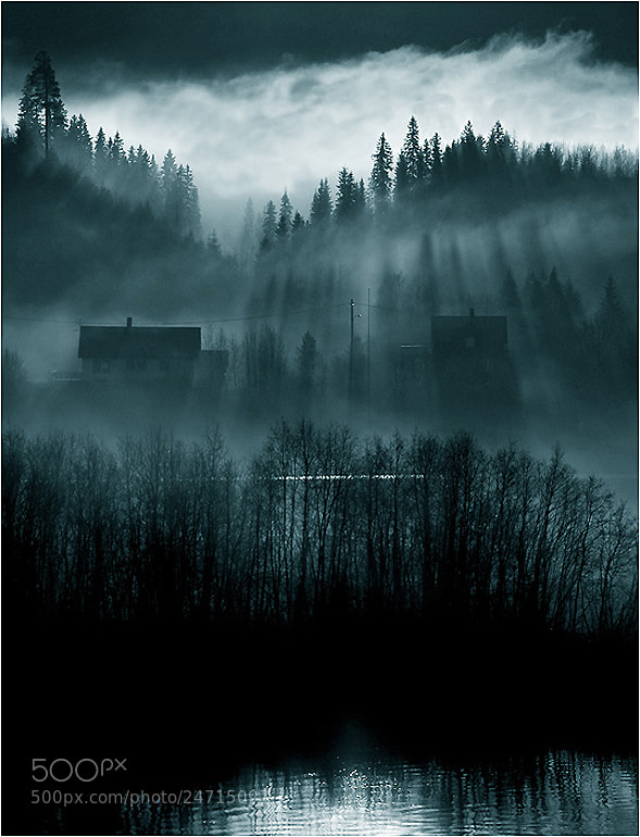 Photograph Fright night by Fred Strømme on 500px