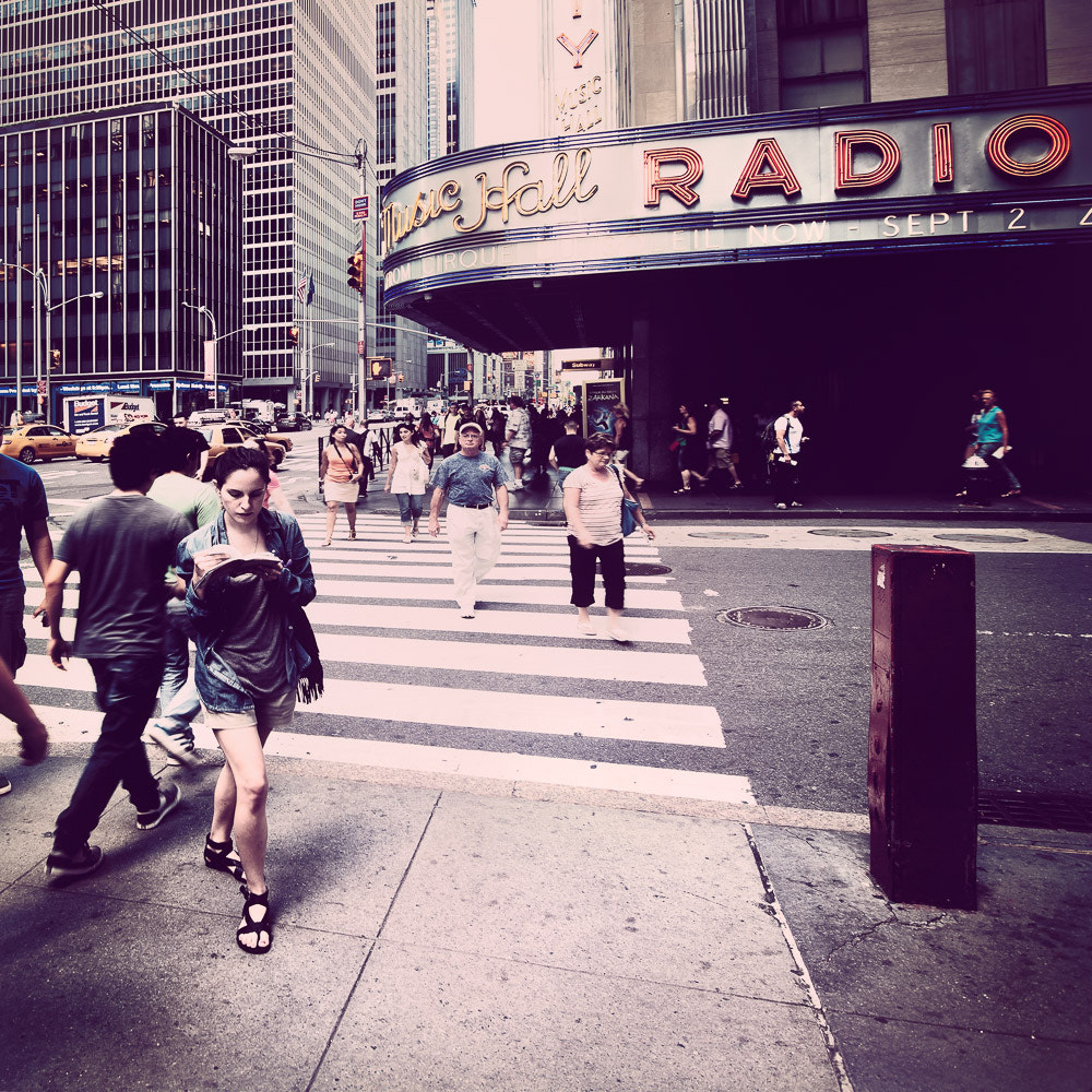 Photograph Radio City Music Hall - NYC.* 652 - USA 2012 by Ronny Ritschel on 500px
