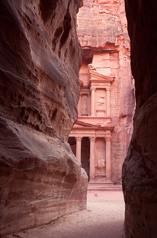 Photograph The Treasury at Petra by Sonia Blanco on 500px