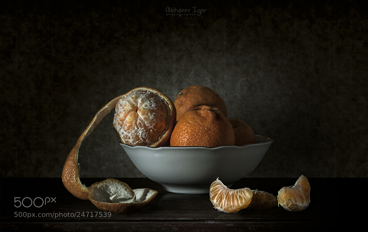 Photograph Tangerines. by Igor Alekseev on 500px