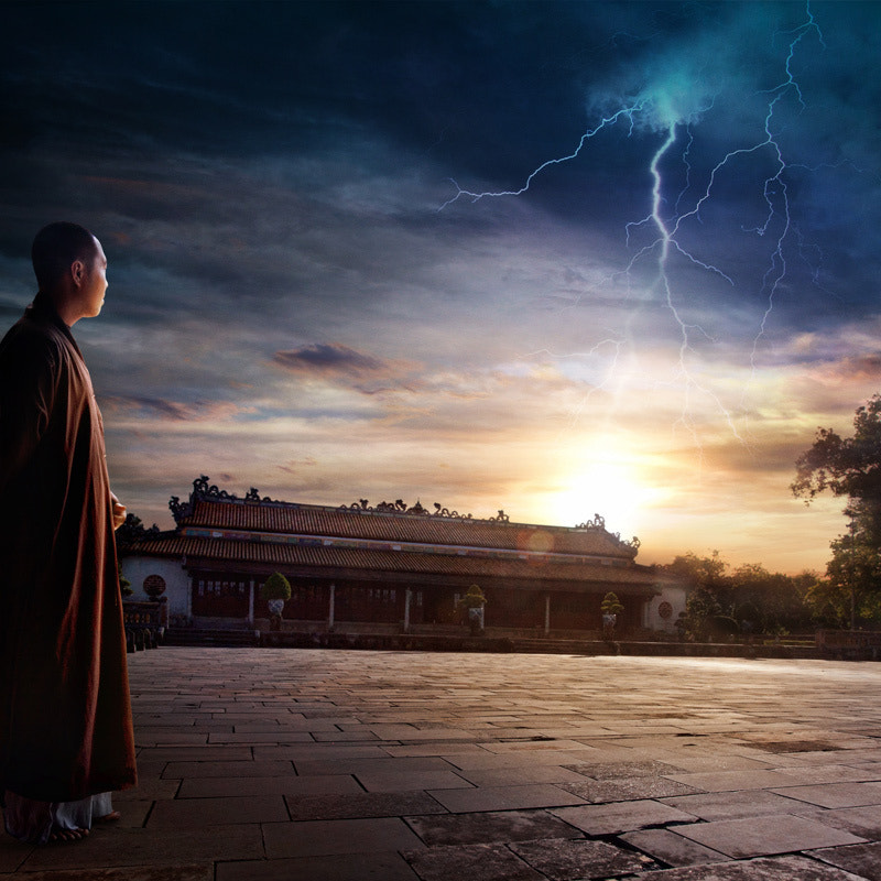 Photograph The Monk by Manuel Lao on 500px