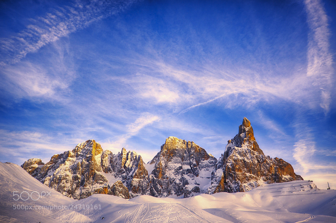 Photograph Le pale di San Martino by Luigi Cavasin on 500px