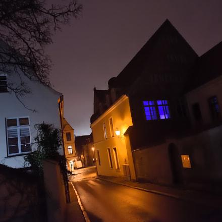 2018-02-02 Wismar Nacht, Nikon D750, AF Nikkor 20mm f/2.8D